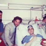 Golden Star: Bradley Cooper Visits Boston Bombing Victim