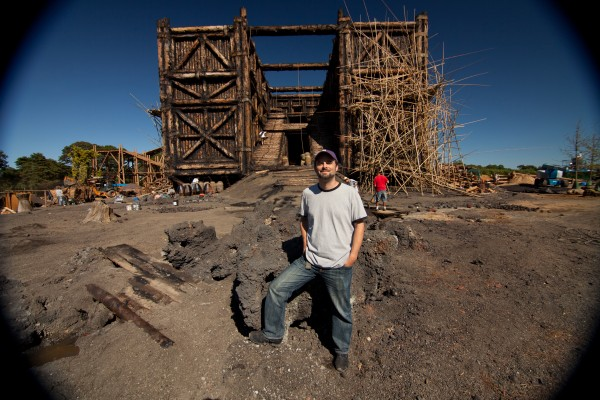 John Snowden On The Set Of NOAH Photo Niko Tavernise C 2012 Paramount Pictures All Rights Reserved