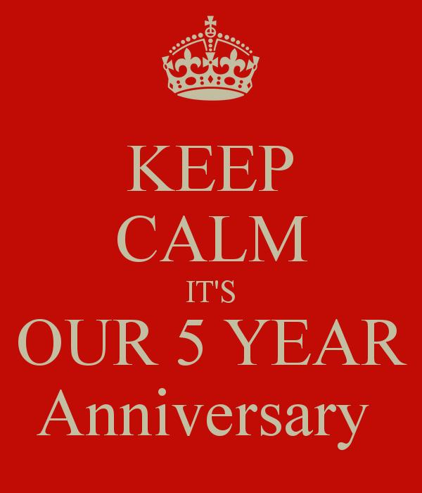 anniversary 5 year