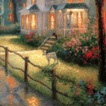 Thomas Kinkade and the Dog: A Drunkard Christian's Dream