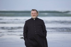 Father James (Brendan Gleeson) in lovely County Sligo