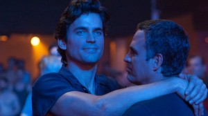 A romantic moment for Felix (Matt Bomer) and Ned (Mark Ruffalo)