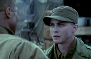 Private Ellison (Logan Lerman), on encountering Wardaddy