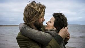 Rebecca with her husband Marcus (Nikolaj Coster-Waldau)