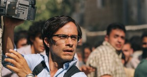 "Gael Garcia Bernal as journalist Maziar Bahari, in ""Rosewater"""