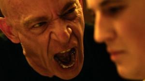 Terence Fletcher (J.K. Simmons) providing motivation for Andrew Weiman (Miles Teller)