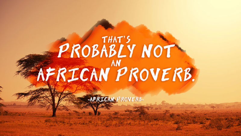 an analysis of african proverb Current proverb scholars have continued the trend to be involved in analysis as well as collection of proverbs the wisdom of african proverbs (cd-rom.