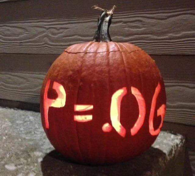 Spooky Punkins And Statistical Correlation