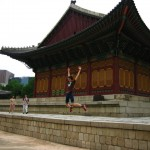 jumping while in Japan