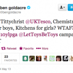 Ben Goldacre supports Let Toys Be Toys