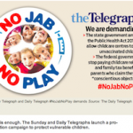 The Telegraph No Jab No Play