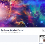 patheos atheist facebook page