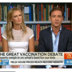 Channel 7 Sunrise – Anti-Vaccination Messages For Breakfast This Morning