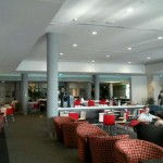 Virgin Perth airport lounge
