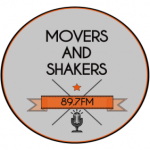 Movers and Shakers Radio Show Logo
