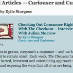 Curiouser And Curiouser – Four Years And Forty-Four Articles Now Out
