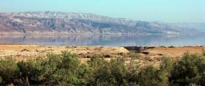 Dead Sea near Sodom
