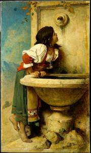 Roman_Girl_at_a_Fountain_MET_DT1507