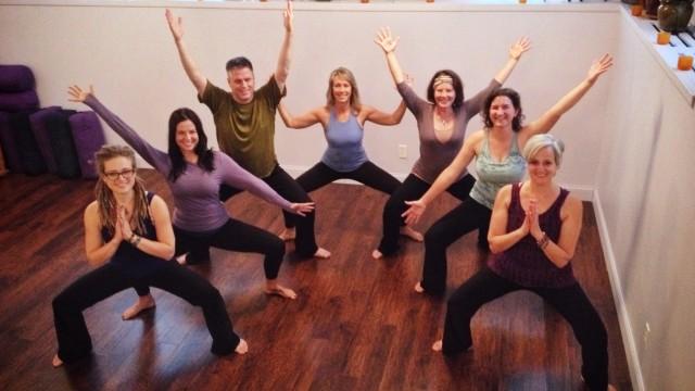The yogis at Solomon's Porch.