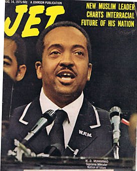 Jet Magazine Cover in 1975.