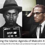 Reviving the Islamic Agenda of Malcolm X!