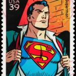 USA Superman postage stamp