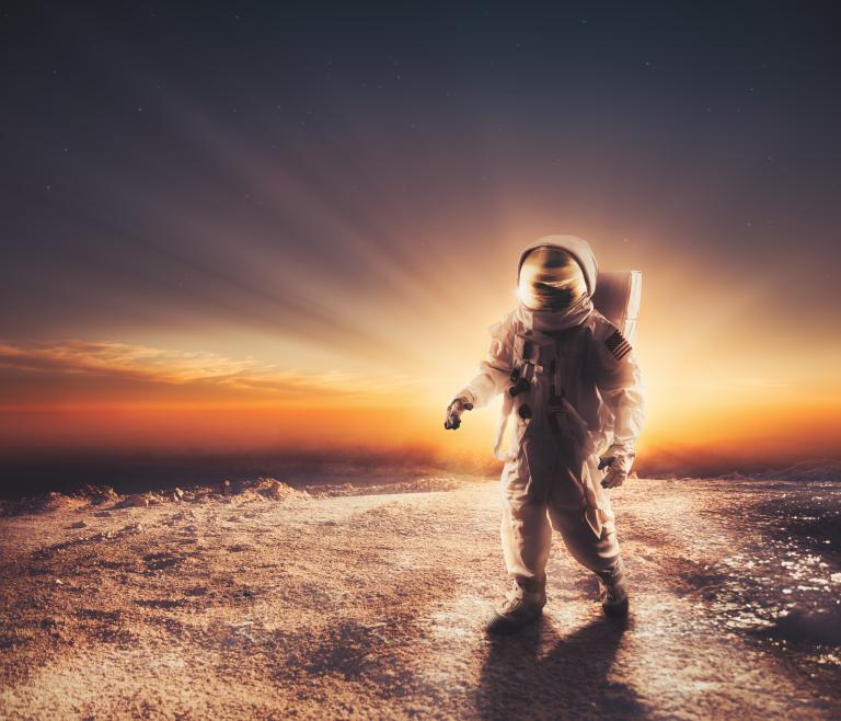 astronaut in space exploration - photo #32