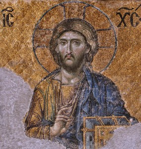 "Christ Pantokrator (""Christ Almighty"") from the Hagia Sophia Creative Commons"