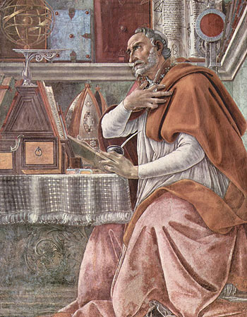 a research on the beliefs of augustine Augustine tries to reconcile his beliefs about freewill, especially the belief that humans are morally responsible for their actions, with his belief that one's life is predestined though initially optimistic about the ability of humans to behave morally, at the.