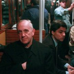 Cardinal Bergoglio on the bus