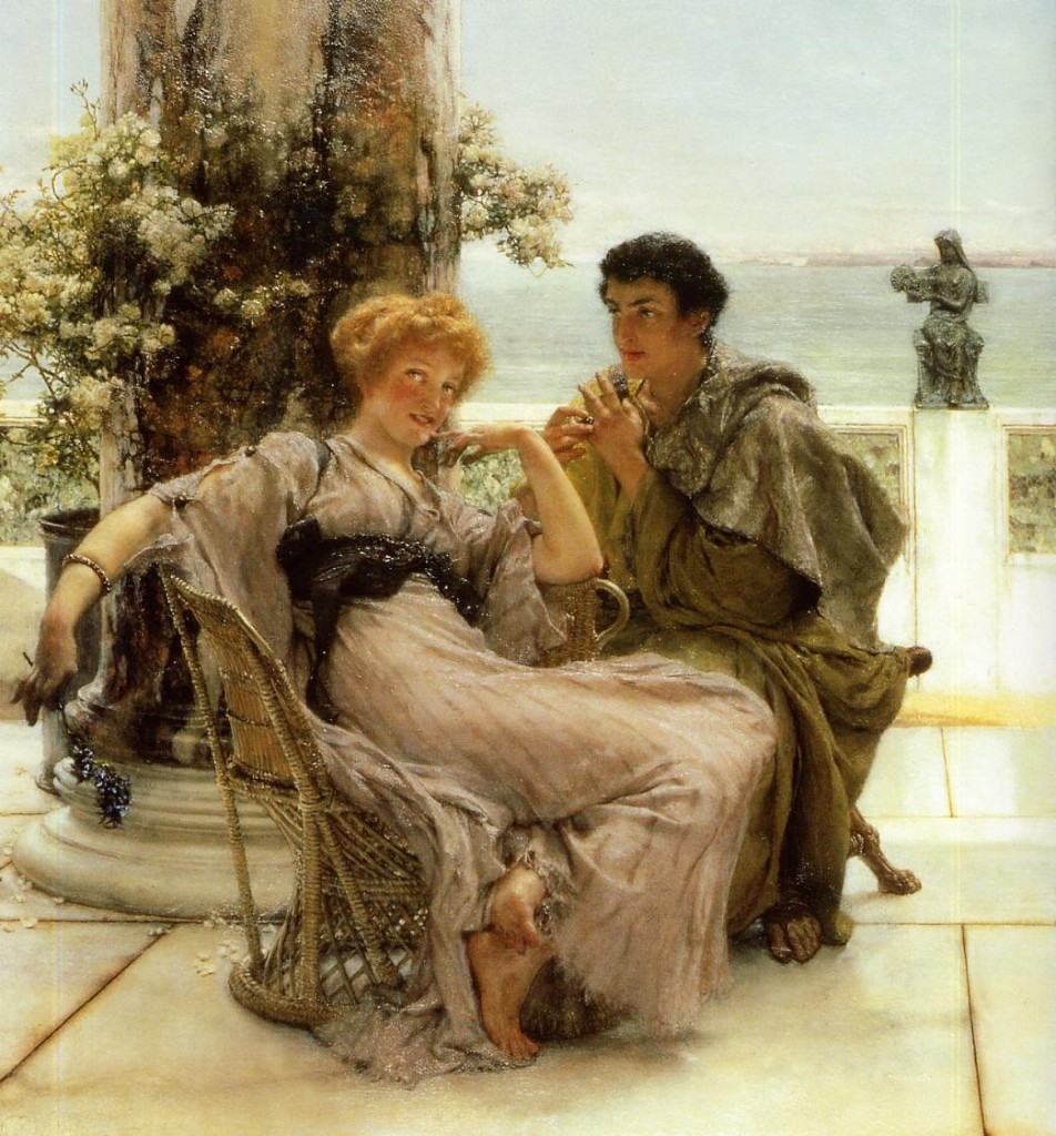 Lawrence Alma-Tadema's The Proposal