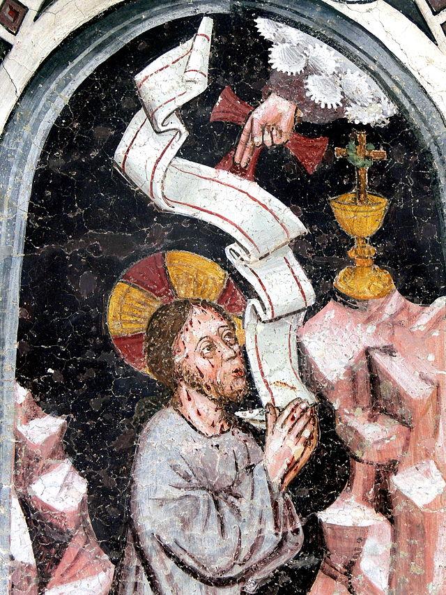 Tabernakelbildstock in Taisten. Christus am Ölberg (cc Wolfgang Sauber)
