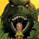 Ken Ham prepares to battle evolution.