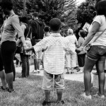 Trayvon Martin Rally, A Child Prays