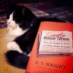 The book I'm giving away (cat not included).