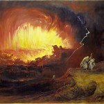 The Destruction Of Sodom And Gomorrah, John Martin, 1852, public domain