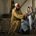 Mary and Joseph discussing amongst themselves