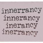 Why biblical inerrancy simply makes no sense