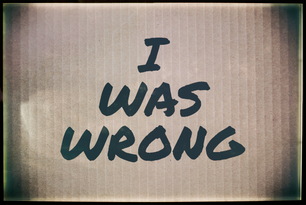 I Was Wrong About Homosexuality