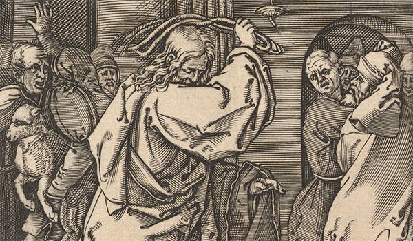 """Detail from """"The Cleansing of the Temple"""" by Raimondi via The Metropolitan Museum of Art licensed under CC0 1.0"""