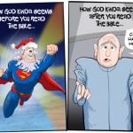 how god seems before and after you read the bible atheism agnosticism humor