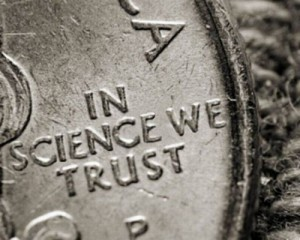 in science we trust coin