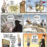 man and religion comic