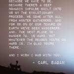 carl sagan on mars