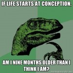if life starts at conception
