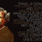 mark twain travel quote atheism science