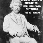 mark twain on christians
