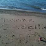 thanks godzilla