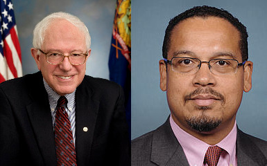 "Keith Ellison is Feeling ""the Bern"""