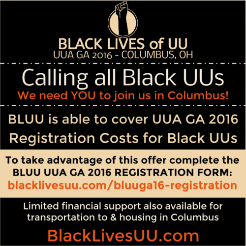 Black Lives of UU GA 2016